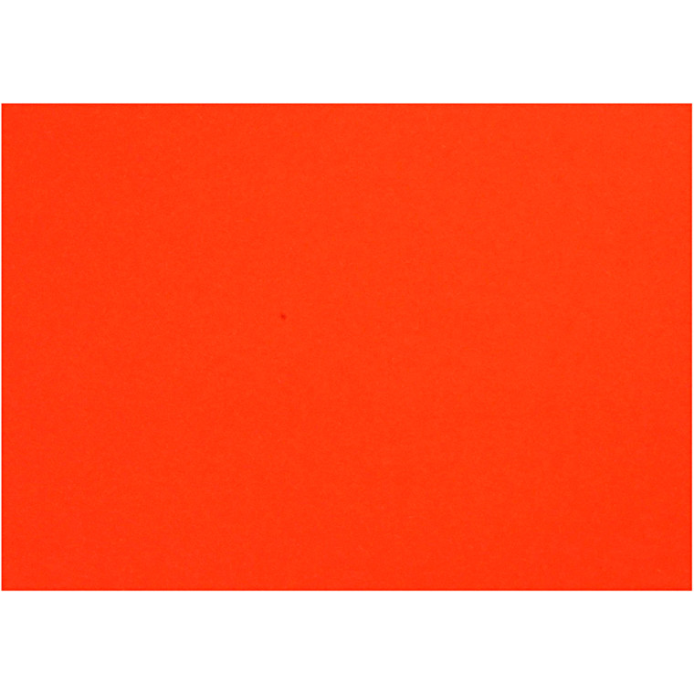 Creativ papir, A4 210x297 mm, 80 g, orange, 20ark