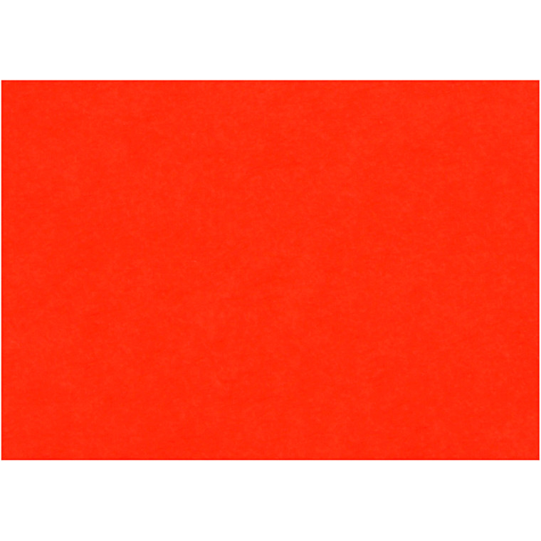 Creativ papir, A4 210x297 mm, 80 g, rød, 20ark