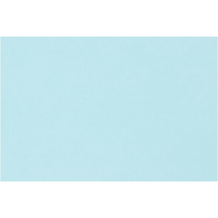 Creativ papir, A4 21x30 cm, 80 g, lys blå, , 500ark