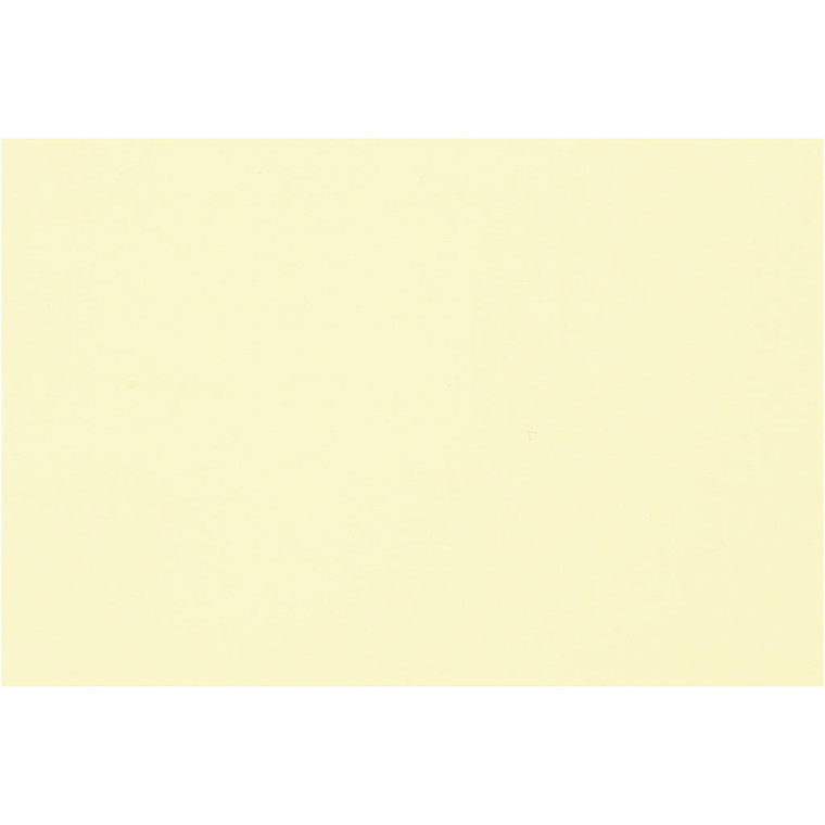 Creativ papir, A4 21x30 cm, 80 g, lys gul, , 500ark