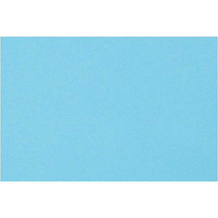 Creativ papir, A4 21x30 cm, 80 g, mellemblå, , 500ark