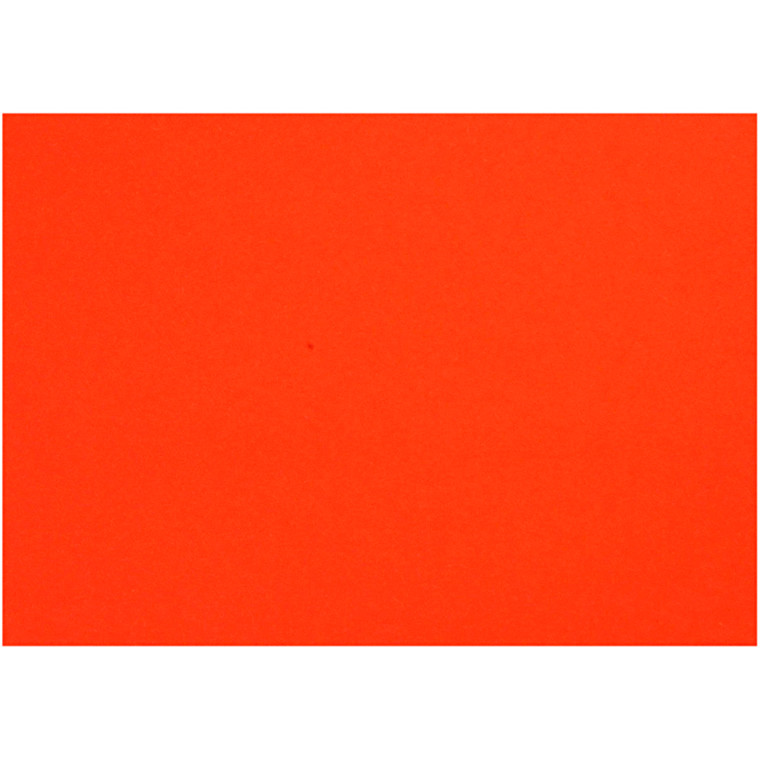 Creativ papir, A4 21x30 cm, 80 g, orange, 25ark
