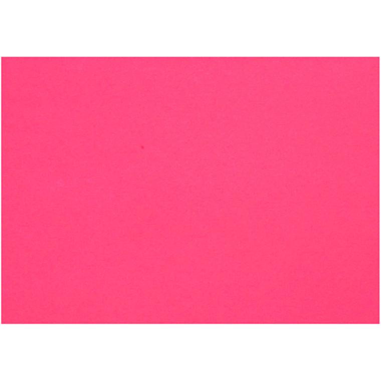 Creativ papir, A4 21x30 cm, 80 g, pink, 25ark