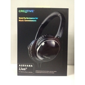 Creative AURVANA Live! Over-Ear Black