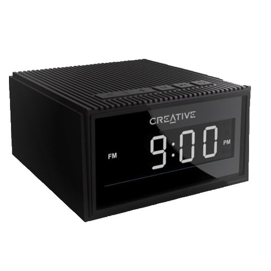 Creative Chrono Bluetooth Wireless Speaker, Black