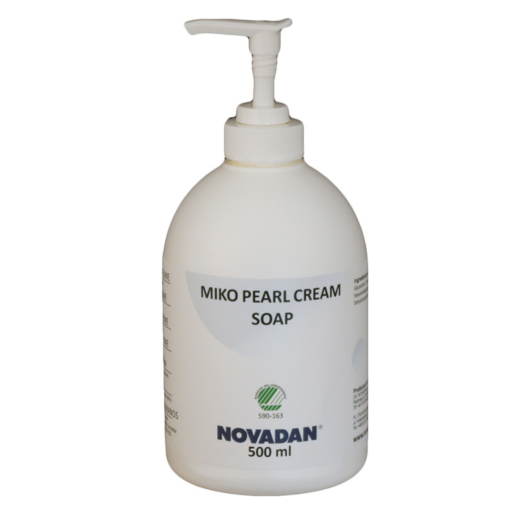 Novadan MIKO Pearl Cream Soap Cremesæbe - 500 ml