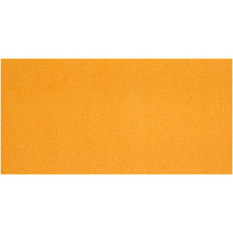 Crepepapir - 50 x 250 cm - Solgul - 10 læg