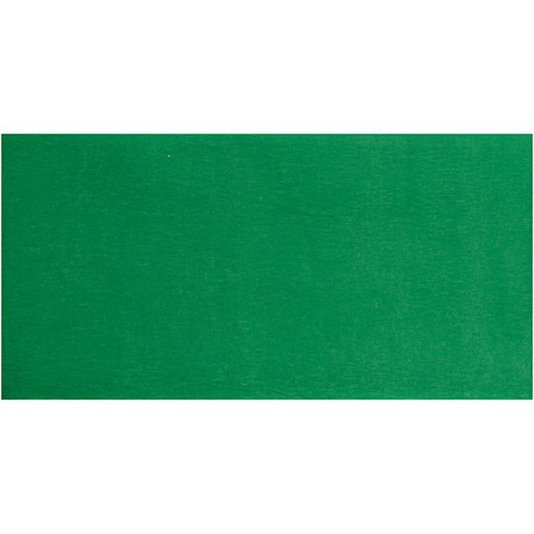 Crepepapir grøn 50 x 250 cm | 10 læg