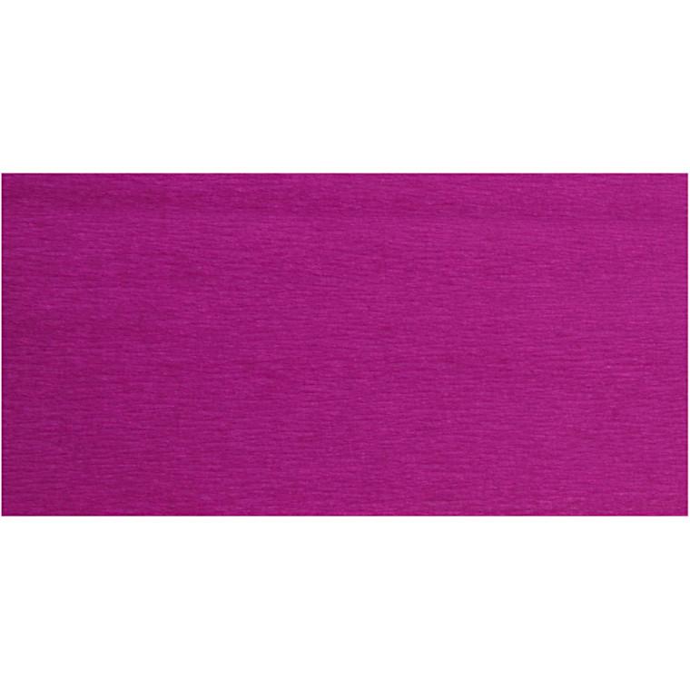 Crepepapir, 50x250 cm, violet, 10læg