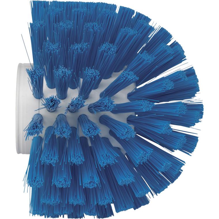 Cylinderbørste, Vikan, medium filamenter, blå, 13,50 cm,