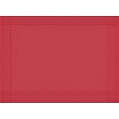 Dækkeserviet, Dunicel, rød, 30cm x 40cm