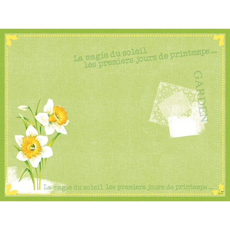 Dækkeservietter Dunicel 30 x 40 cm Spring Day - 500 stk.