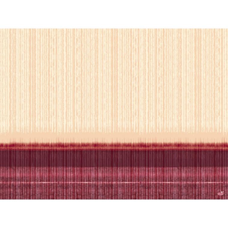 Dækkeservietter Dunicel Como bordeaux 30 x 40 cm - 100 stk.