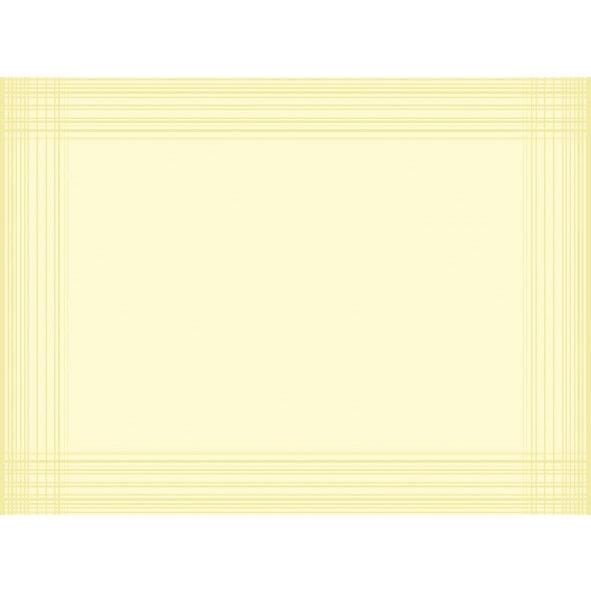 Dækkeservietter Dunicel Duni buttermilk 30 x 40 cm - 100 stk.