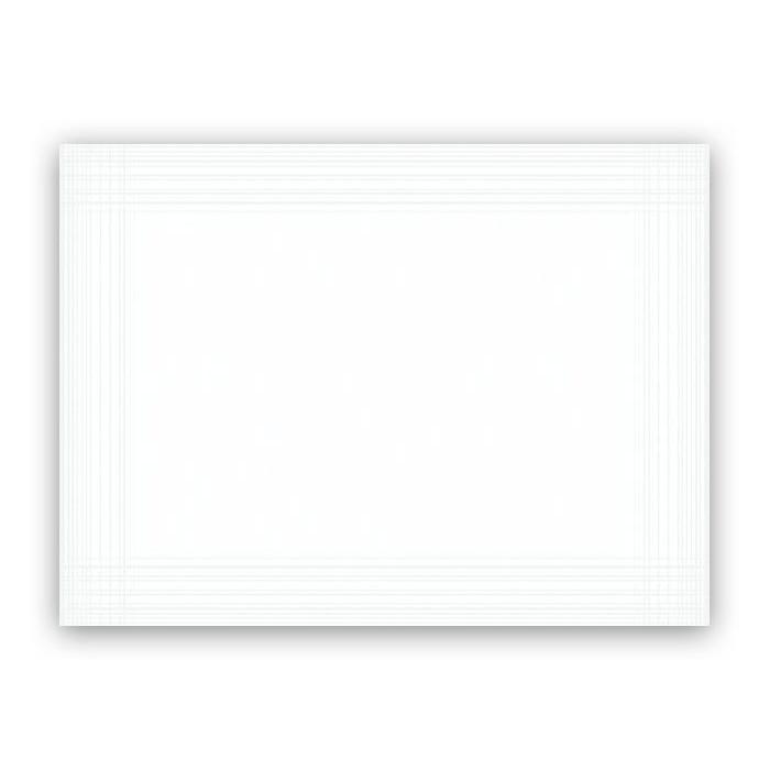 Dækkeservietter Dunicel Duni hvid 30 x 40 cm - 100 stk.