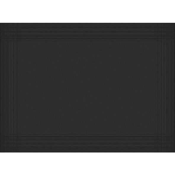 Dækkeservietter Dunicel Duni Sort 30 x 40 cm - 100 stk.