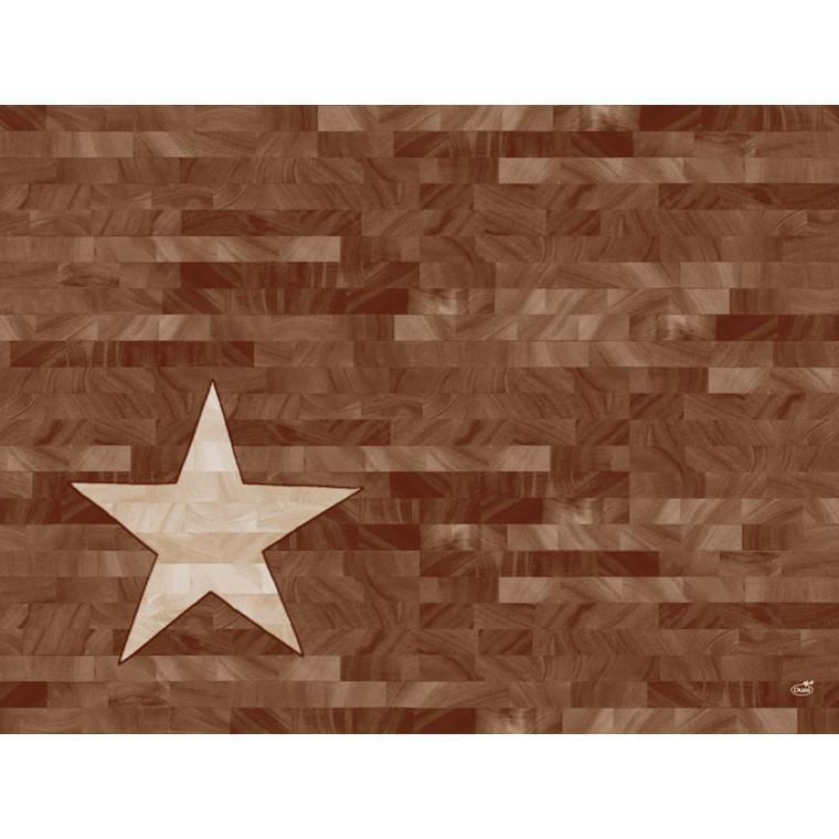 Dækkeservietter Dunicel Duni Wood Star 30 x 40 cm - 100 stk