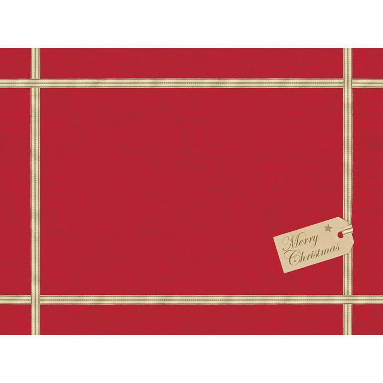 Dækkeservietter papir 30 x 40 cm Christmas gift - 250 stk