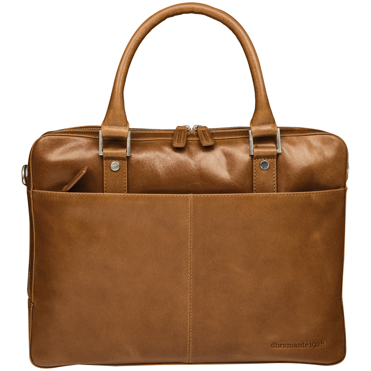 Dbramante1928 16'' Business Bag Rosenborg,Golden Tan