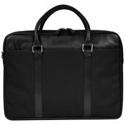 Dbramante1928 16'' Duo Pocket Laptop Bag Ginza, Black