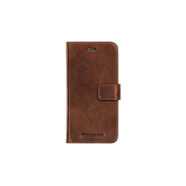 Dbramante1928 iPhone 8/7/6/6S Plus Wallet Lynge 2, Chestnut (Signature)