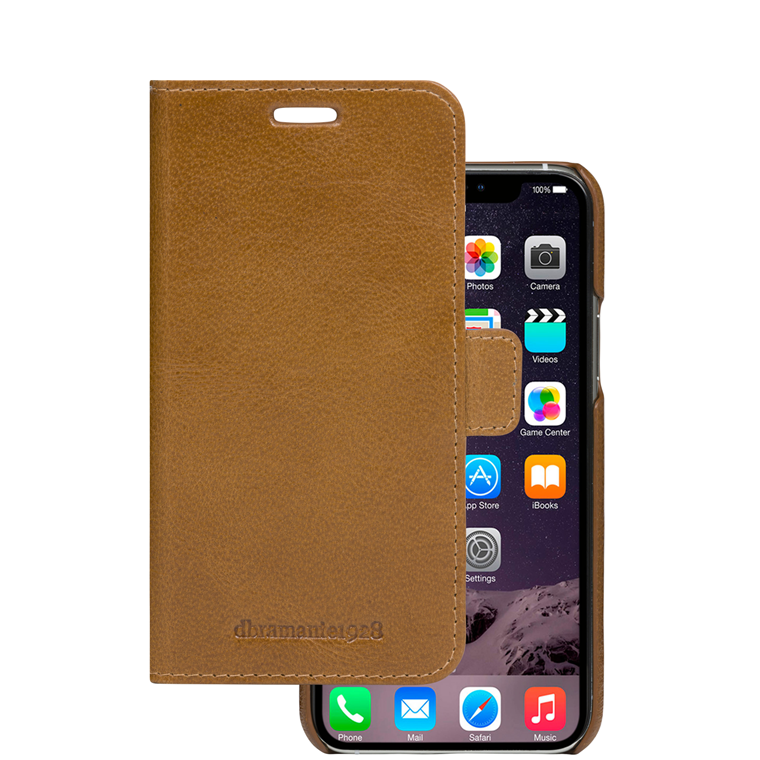 Dbramante1928 iPhone 11  Max Wallet Lynge, Tan