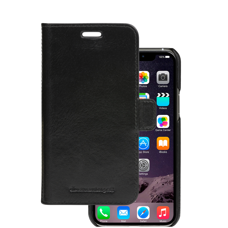 Dbramante1928 iPhone 11 Wallet Lynge, Black farve