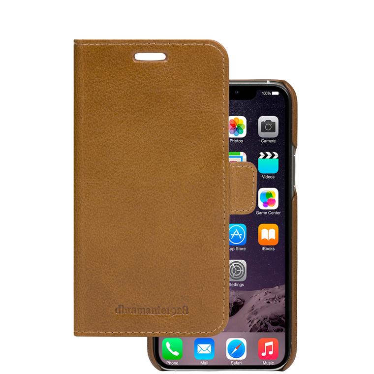 Dbramante1928 iPhone 11  Wallet Lynge, Tan farve