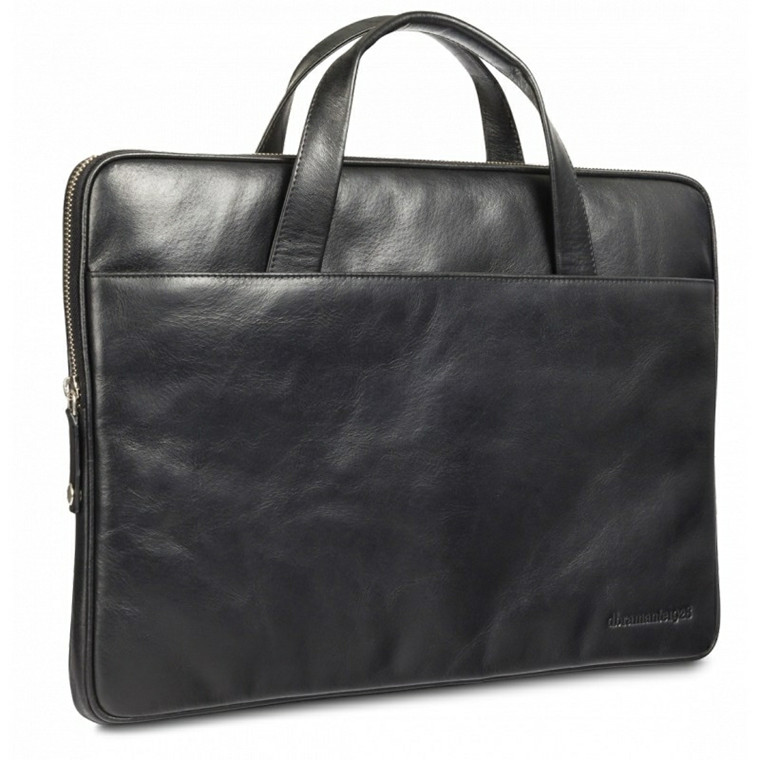 Dbramante1928 Leather case Silkeborg for PC & MacBooks up to 15'' - black