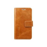 Dbramante1928 Leather wallet Copenhagen Galaxy S6 - golden tan