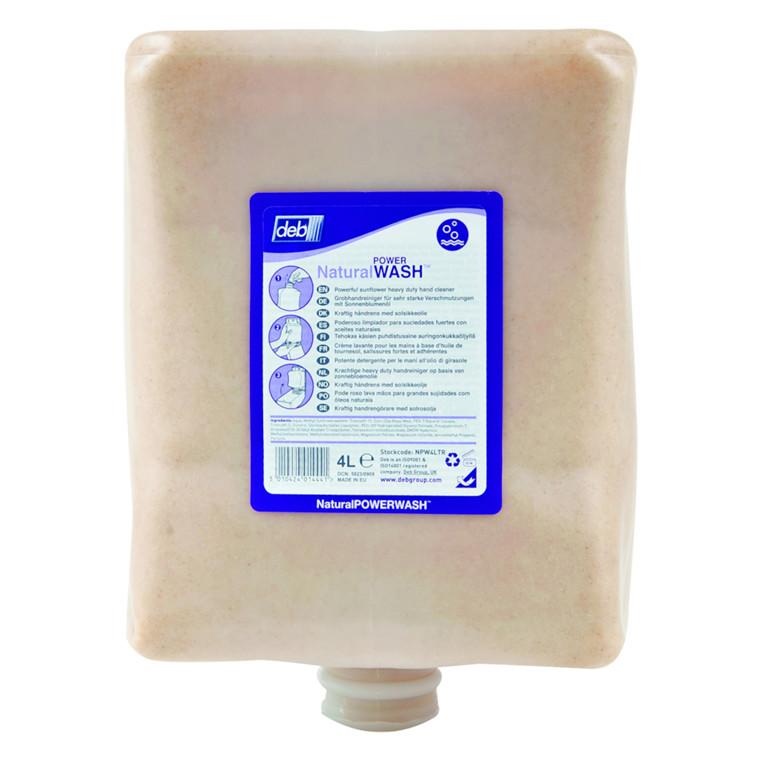 Deb, med farve og parfume, med majsgranulat og olivensten, 4000 ml