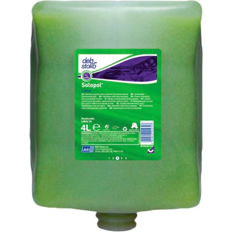 Deb, med parfume, med micro polykugler, refill-patron, 4000 ml