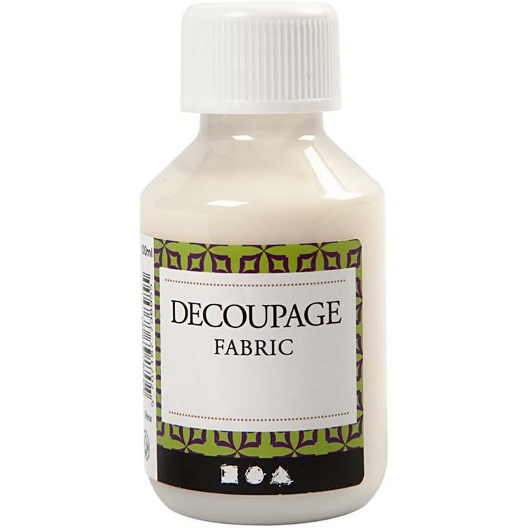 Decoupagelak til tekstil og stof - 100 ml