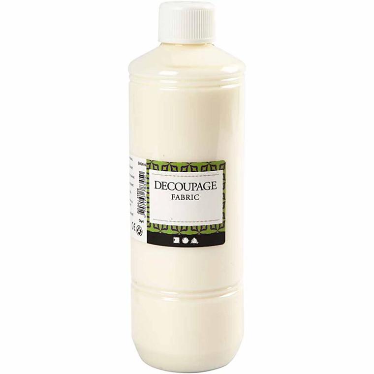 Decoupagelak til stof og tekstil - 500 ml