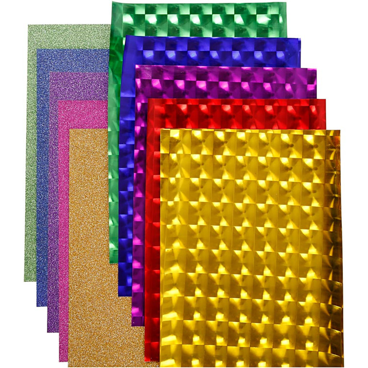 Dekofilm , B: 35 cm, tykkelse 30+110 my, ass. farver, 10x2m