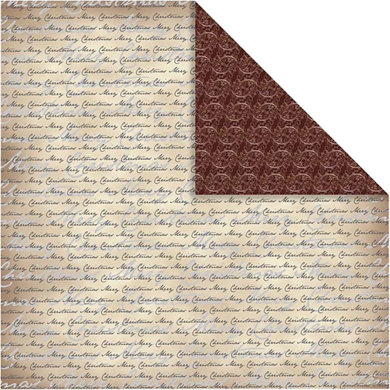 Designpapir, ark 30,5x30,5 cm, 120 g, Oslo, 5ark