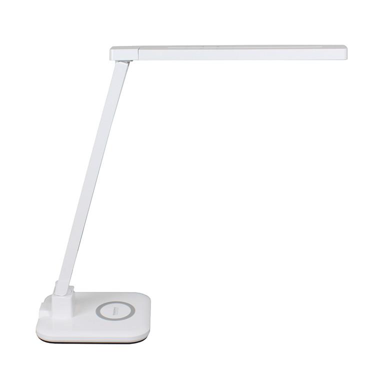 Diasonic D65 - Bordlampe LED med trådløs mobiloplader QI-Charger