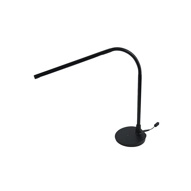 Diasonic LED D51B -  Sort LED Arbejdslampe med USB