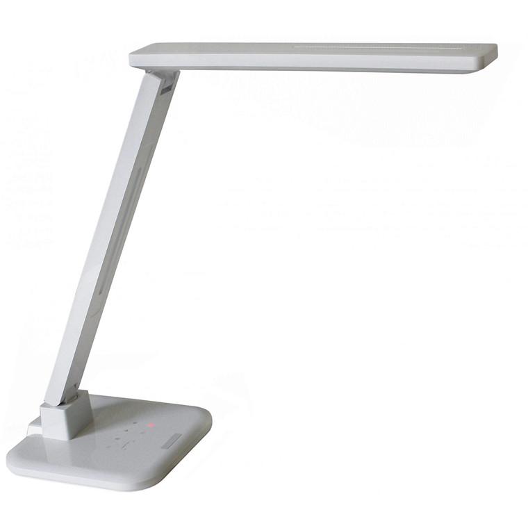 Diasonic LED D61H - Hvid LED Skrivebordslampe med USB