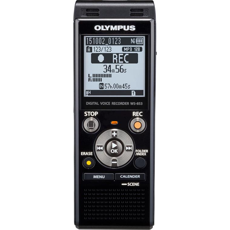 Diktafon Olympus WS-853 8GB incl batteri og case