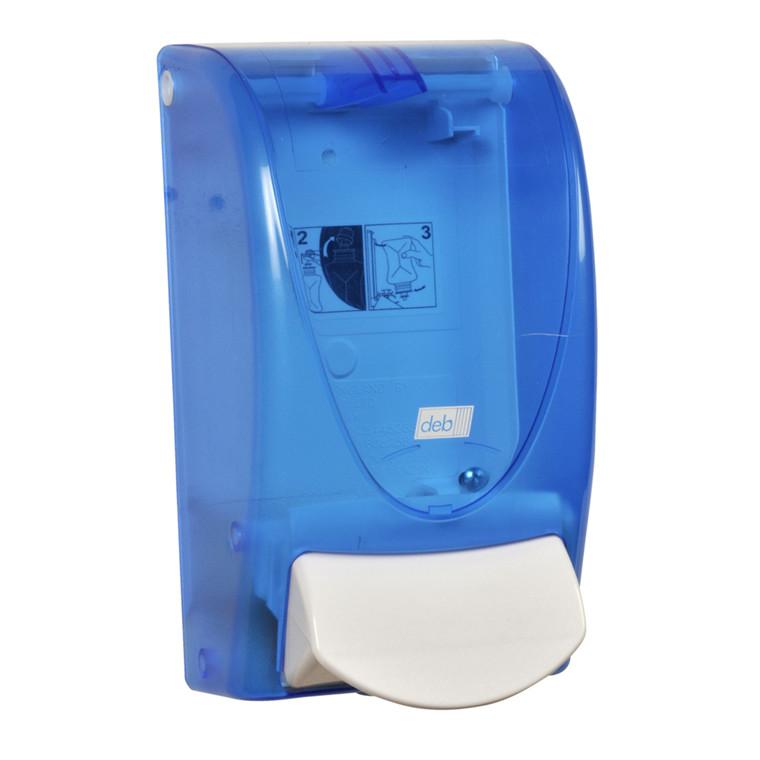 Dispenser, Deb, blå, 1000 ml,