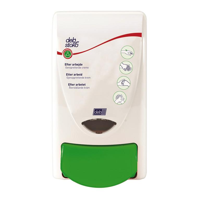 Dispenser Deb Stoko Restore hvid/grøn til 1l patroner