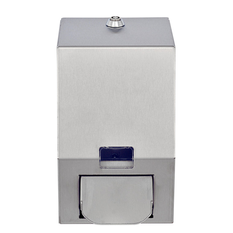 Dispenser, Deb, til patron refill, rustfri, 1000 ml,
