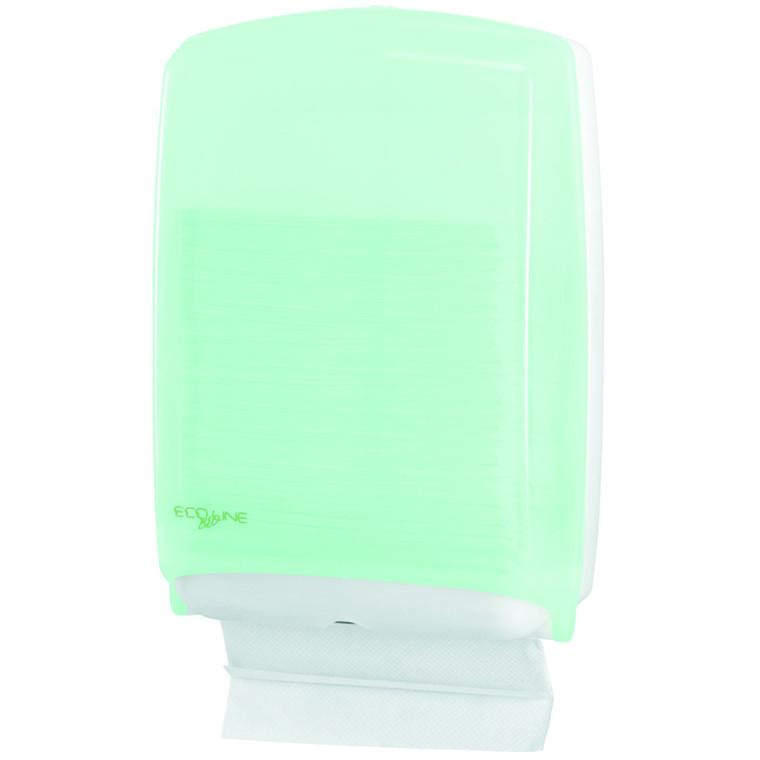 Dispenser, Eco Line, til alle typer håndklædeark, midi, 30,50 cm x