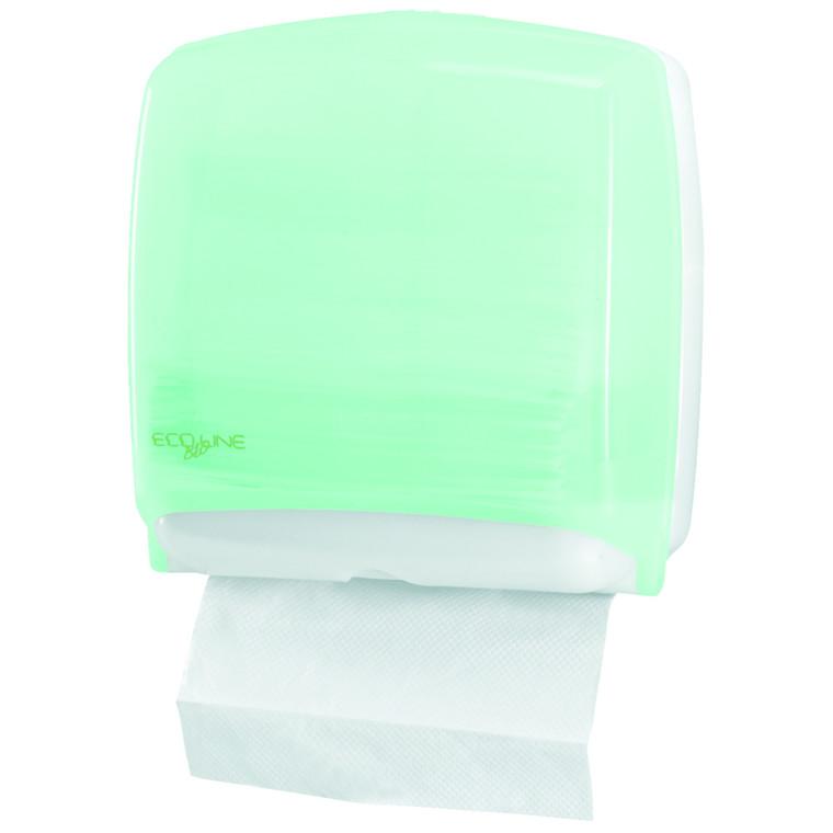 Dispenser, Eco Line, til alle typer håndklædeark, mini, 30 cm x