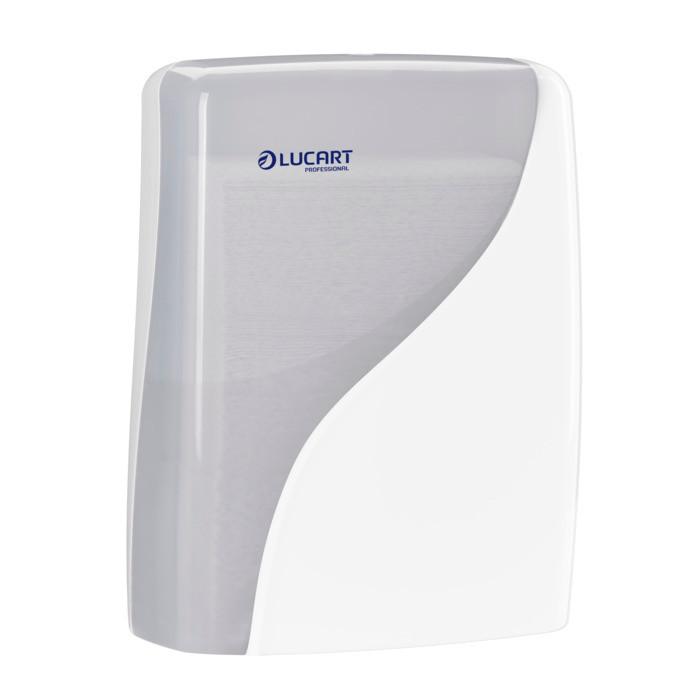 Dispenser, Identity, til alle typer håndklædeark, hvid, 30,50 cm x