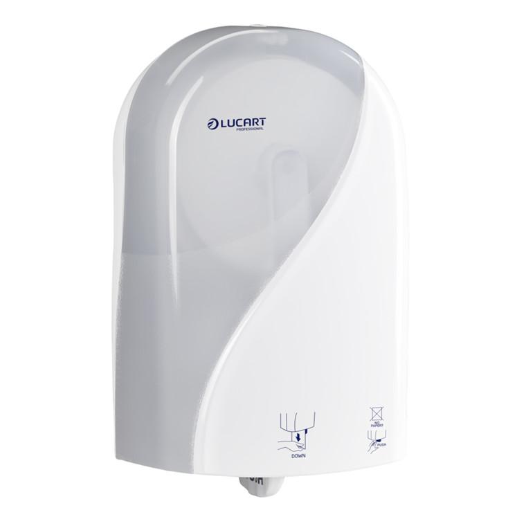 Dispenser, Identity, til jumbo toiletruller, hvid,