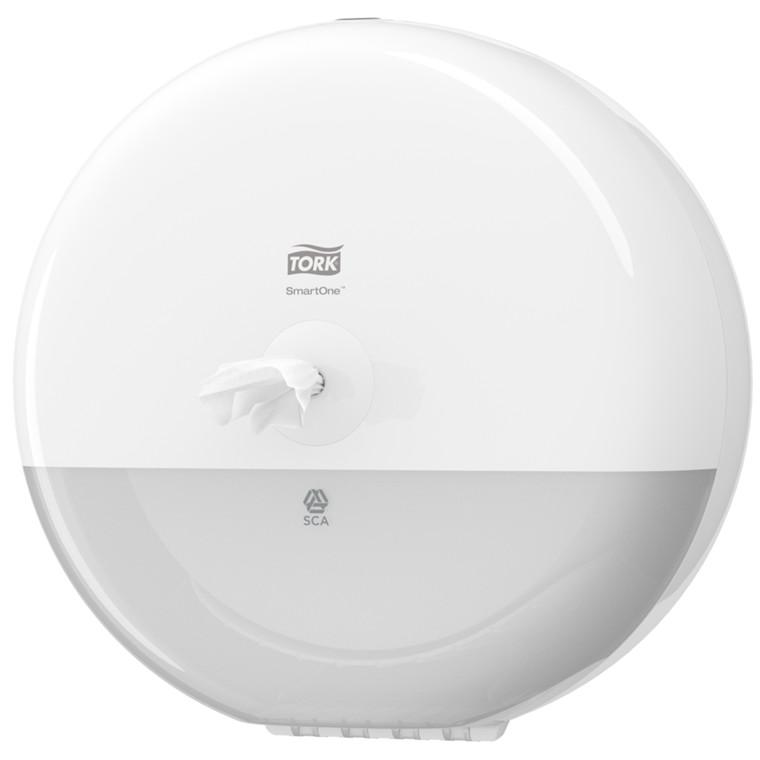 Dispenser, Lotus Smartone, til SmartOne toiletpapir, hvid,