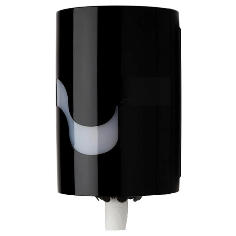 Dispenser Megamini sort - til midi håndklæderuller