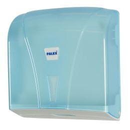 Dispenser, Neutral, til multifold håndklædeark, transparent, mini,